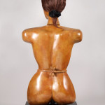 THE HOUSEWIFE bronze, 39″ x 18″ x 11″