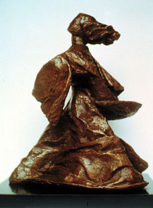MUSIC bronze, 16″ x 13″ 10″