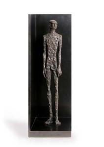 ONE MAN IN MEMORY OF SIX MILLION Bronze, 7′ x2′ x 2′